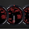 USDM Red Racer Gauges (White Needle)