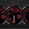 USDM Red Racer Gauges (White Needle)