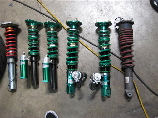 The factory supplied dampers are quite nice. But, that TEIN Green, though......