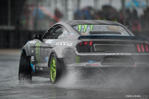 gitting new mustang rain